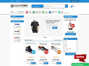 jasa website toko online store-skin
